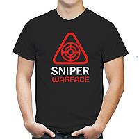 "Мужская футболка ""Снайпер Warface"""