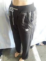 6659750e Купить Женские спортивные штаны оптом ADIDAS Плащевка на флис в ...