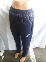 Женские спортивные штаны оптом NIKE Плащевка на синтепоне + флис в Одессе