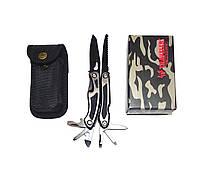 Нож многофункциональный TRAVELER MQ-003 (нержавеющая сталь, 9 предметов)