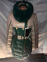 Пуховик женский на холлофайбере S-2XL купить оптм в Одессе