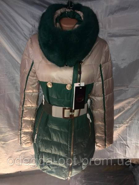 Пуховик женский на холлофайбере S-2XL купить оптм в Одессе - Интернет-магазин одежды «Одежда Оптом в Украине» в Одессе