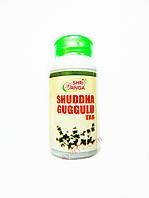 Для щитовидной железы Шудха Гуггул, Шри Ганга / Shri Ganga, Shuddha Guggulu / 120 таб.