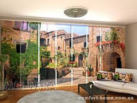 Панельная штора Живописный уголок Италии комплект 8 шт