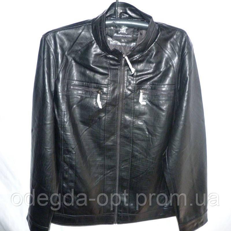 Мужская куртка кожзам батал 7L-12XL купить оптом качественные модные модели не дорого в Одессе 7км, фото 1