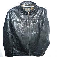 Мужская куртка кожзам L-5XL купить оптом качественные модные модели не дорого по низкой цене в Одессе 7км