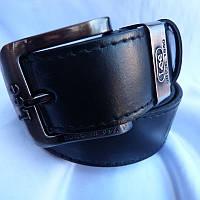Ремень мужской Батал125-160мм кожа 40мм купить оптом в Одессе недорого модные 7км