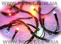 Новогодняя гирлянда 200 ламп 8 режимов свечения