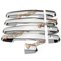 Chrome дверные ручки крышки для Toyota приус Камри рав4 Королла 03-11