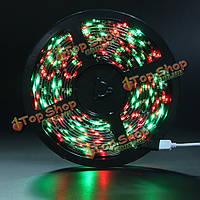 5m 300 LED 1210 SMD водонепроницаемая LED полосы огни