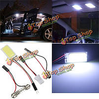 1.2w початка 21 LED белый интерьер Световая панель T10 BA9S гирлянда купола автомобиля лампы