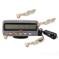 Автомобиль ЖК-цифровой будильник монитор thermometertemperature датчик