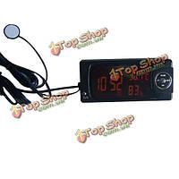 Прокат авто цифровой термометр гигрометр часы и календарь