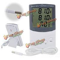 Термометр-гигрометр ЖК-цифровой измеритель влажности