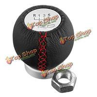 5 скорость 6 скорость рукоятка рычага переключения передач Рычаг переключения передач TRD автомобиль мягкой кожи для Toyota