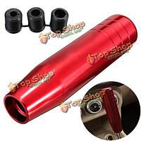 Автомобиль ручной рычаг переключения передач рукоятка рычага переключения ручки ручки скорости алюминиевые красный 13см
