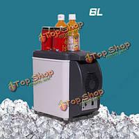 6л Mini авто домой кемпинг электрический холодильник термобокс Cooler и теплее