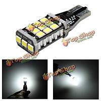 W16W T15 912 921 LED 2835 резервное копирование 21SMD автомобиля обратный свет колбы лампы белый