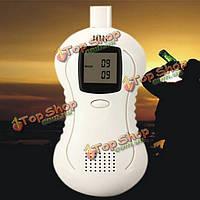 Профессиональное портативное цифровое жидкокристаллическое дыхание алкоголя датчика алкогольно-респираторной трубки тестера алкоголя