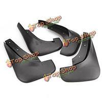 Бора mk4 седан грязи охранник комплект черный для VW Jetta 98-04