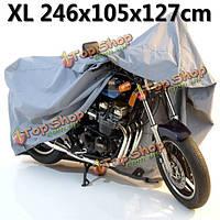 Мотоцикл напольные покрытия водонепроницаемый 246 х 105 х 127 см Размер XL а-2