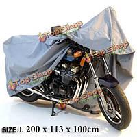 Мотоцикл мотоцикл открытый покрытие водонепроницаемый размер L