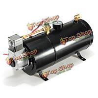 12psi 12 вольт воздушный компрессор бак насос для воздуха рогами автомобиль, фото 1