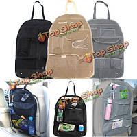 Заднем сиденье автомобиля организатора авто путешествий Multi-карманн хранения сумка держатель