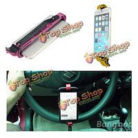 Руль вашгерда держателя маунта автомобиля смарт клип для мобильного телефона, фото 1
