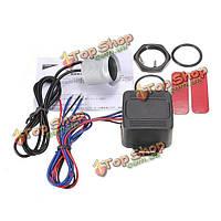 Авто 12V LED одна кнопка пуск двигателя зажигания и стартера
