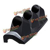 2-дюймов черный 52мм авто стручок столб трехместный 3 отверстия держателя держатель датчика, фото 1