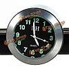Мотоцикл хром ручка держателя часы водонепроницаемый ударопрочный