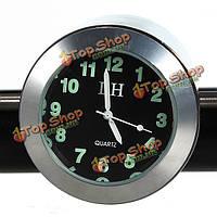 Мотоцикл хром ручка держателя часы водонепроницаемый ударопрочный, фото 1