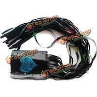 Мотоцикл тормозные рычаги стример светоотражающие руль перчатки