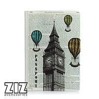 Обложка для паспорта Лондон-Париж