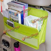 Автомобиль многофункциональный путешествия обратно хранения место организатор держатель вешалки сумки карман