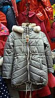 Куртка парка (зима) серая