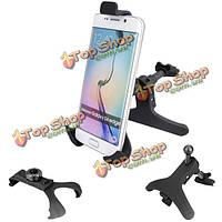 Автомобиль вентиляционное отверстие держателя для iphone кронштейн 6 Samsung s6 4.3 до 5.3 дюймов смартфонов