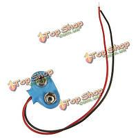 9В батареи пряжкой вольт синий клипса-держатель разъем оснастки подводящий провод шнур