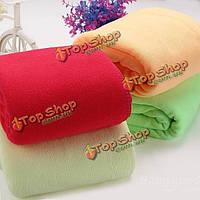 Абсорбент микрофибры полотенце для сушки автомобиля чистой тряпкой мочалкой 70x140cm
