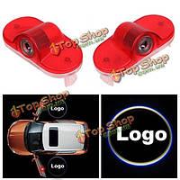 Двери автомобиля фары приветствовать фары логотип лампы Лазерные проекции LED для Škoda Octavia