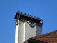 Колпак на дымоход кованый арт 1, фото 1