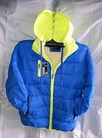Курточка детская Мальчик на Синтепоне 8-12лет купить оптом в Одессе оптом дешево