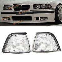 Угловые фары габаритные фонари для BMW E36 3-й серии 2dr купе / кабриолет прозрачной линзой