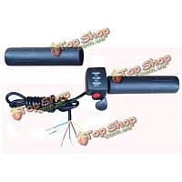 Электрический руль 22мм 7/8 скорости индикатор батареи большой палец дроссель электрический велосипед самокат