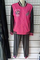 Женский спортивный костюм Фабрика ластик M-3XL купить оптом дешево в Одессе качественные и модные модели 7км