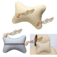 Искусственная кожа теплая подушка сиденья автомобиля зимой подушка Headress поставки авто безопасность шеи