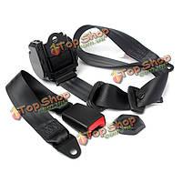 Универсальный складной 3-х точечные авто безопасность сиденья поясной ремень безопасности комплект