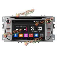 Ownice C180 OL-7296b четырехъядерный GPS радионавигации DVD-плеер Андроид  4.4 1024x600 для Ford Focus 2009 2010 2011