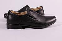 Туфли подростковые черные